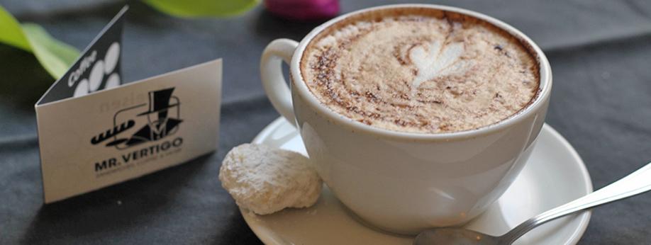 Kaffee mit Liebe zubereitet